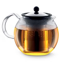 Assam Teapot - 4 Cup 34oz Glass Handle