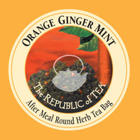 Orange Ginger Mint Single Overwrap