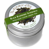 Black Raspberry Green Tea Full Leaf