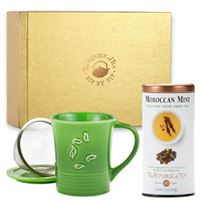 Custom Tea & Mug with Infuser Gift