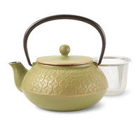 Seven Jewels Green Teapot