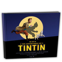 The Art of 'The Adventures of Tintin' Book