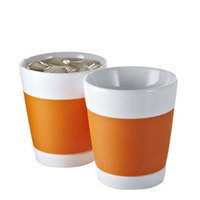Bodum Canteen Double Wall Cups - Orange