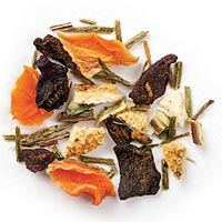 Orange Red Carrot Green Rooibos Full-Leaf
