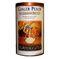 Ginger Peach Copper Display Tin