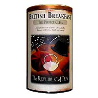 British Breakfast Copper Display Tin
