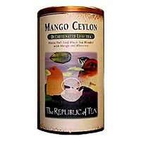 Mango Ceylon Decaf Copper Display Tin