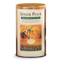 Ginger Peach Decaf Copper Display Tin