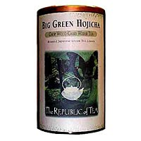Big Green Hojicha Copper Display Tin