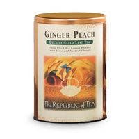 Ginger Peach Green Tea Copper Display Tin