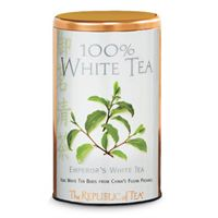 White Tea Copper Display Tin