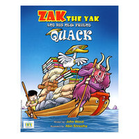 Zak the Yak and His New Friend Quack Book