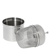 Floating Stainless Steel Infuser with Holder