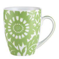 Green Zinnia Mug