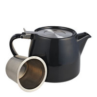 Midnight Black Stump Teapot