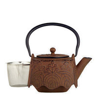 Artisan Cast-Iron Teapot and Infuser