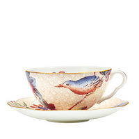 Flora and Fauna Tea Cup and Saucer