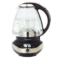 5-Setting Capresso Glass Water Electric Kettle