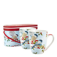 Winter Bird Mug Gift Set (Set of Two)