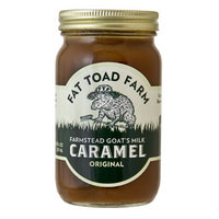 Pourable Goat's Milk Caramel Sauce for Tea