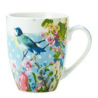 Blue Vintage Postcard Mug