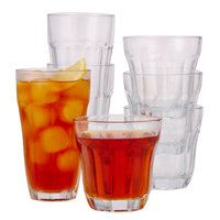 Retro Bevel Glass Set