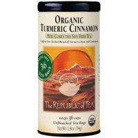 Biodynamic Organic Turmeric Cinnamon Tea Bags