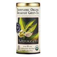 Biodynamic® Organic Breakfast Green Tea Bags