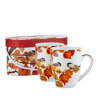 Autumn Bird Mug Set