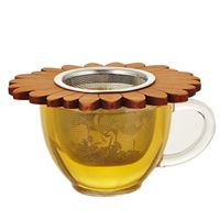 Wooden Flower Tea Infuser