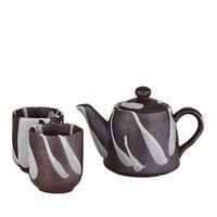 Modern Stone Teapot Set