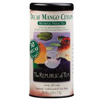 Decaf Mango Ceylon Black Tea Bags