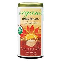 Organic USDA Ceylon Breakfast Tea Bags
