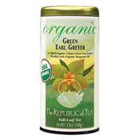 Organic USDA Green Earl Greyer Tea Bags