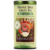 Orange Spice Green Tea Bags