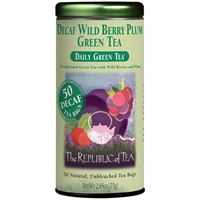 Decaf Wild Berry Plum Green Tea Bags