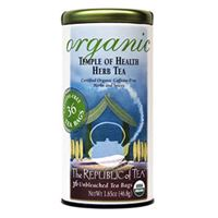 Organic USDA Temple of Health Tea Bags