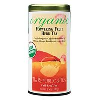 Organic USDA Flowering Fruit Tea Bags