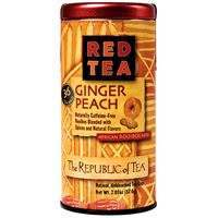 Ginger Peach Red Tea Bags