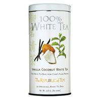 Vanilla Coconut 100% White Tea Bags