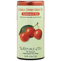 Acerola Cherry Green Tea Bags