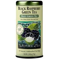 Black Raspberry Green Tea Bags