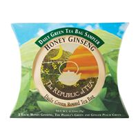 Daily Green Tea Sampler Pillow