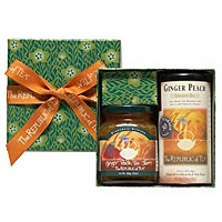 Ginger Peach Tea and Tea Jam® Gift Set