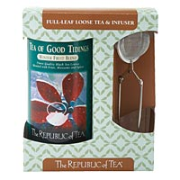 Tea of Good Tidings Full-Leaf Loose Tea & Infuser
