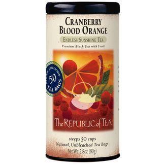 Cranberry Blood Orange Black Tea Bags The Republic Of Tea