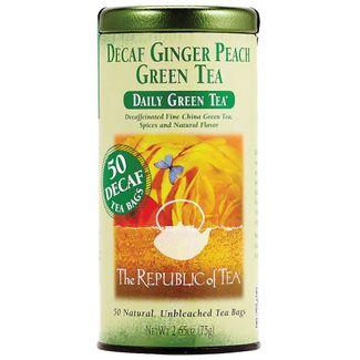 Decaf ginger tea