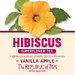 Vanilla Apple Hibiscus Single Overwrap