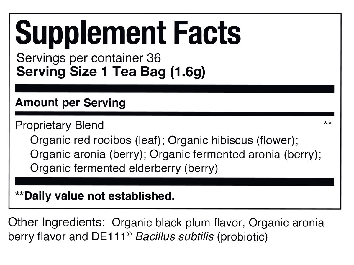 super digest Aronia Elderberry SuperDigest Tea