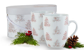 tinsel mug sets